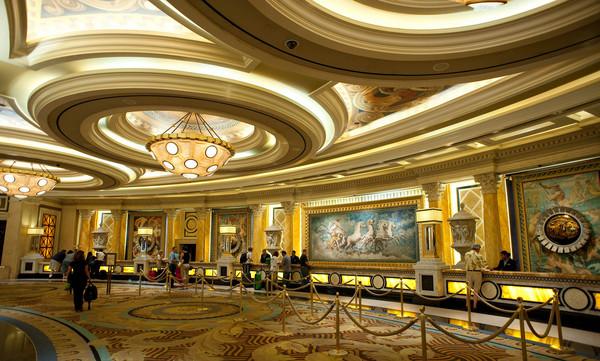 休闲娱乐类装修 欧式风格 拉斯维加斯 凯撒皇宫赌场休闲娱乐类室内