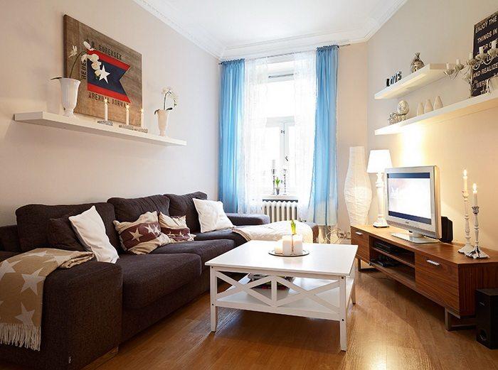 室内 住宅装修 田园风格 60平米清幽雅致的公寓田园风格室内住宅设计