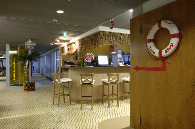 google室内办公空间设计实景图