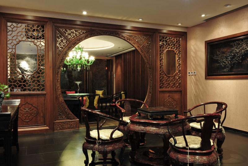 茶会所效果概念方案休闲娱乐类室内设计效果图