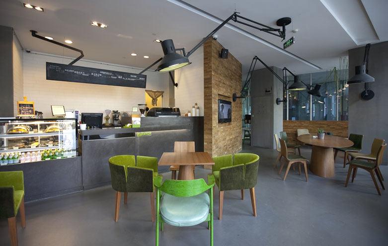 罗灵杰 龙慧祺 北京kubrick书店及咖啡室现代风格室内有什么可以免费领红包实景图