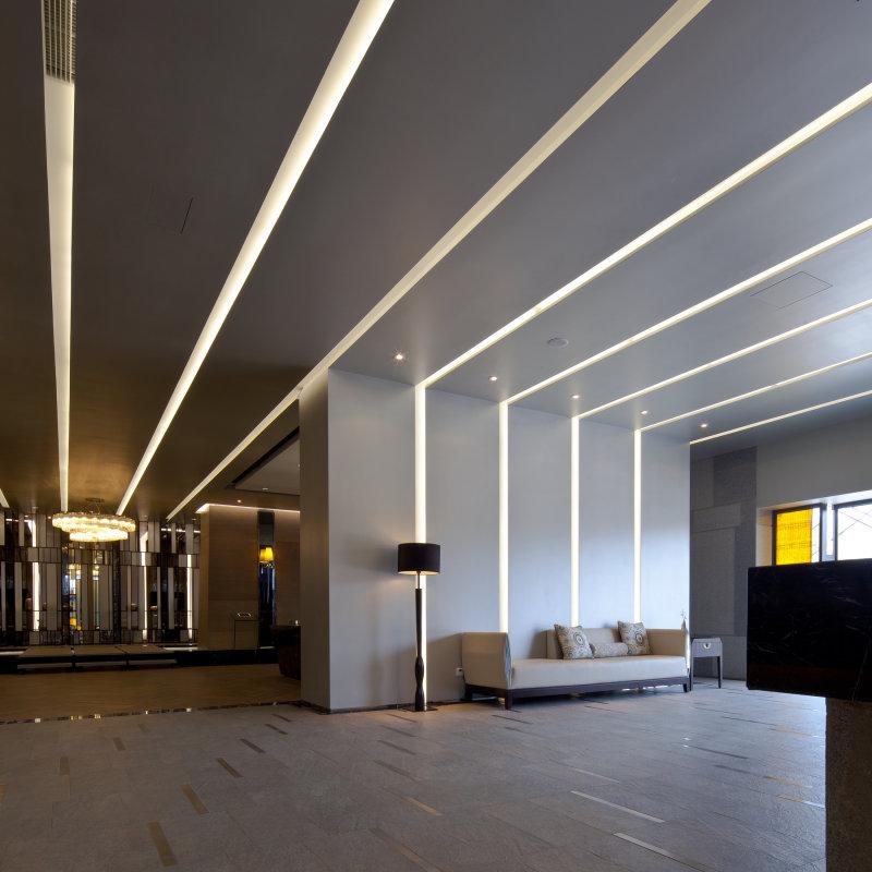 苏州远雄水岸秀墅售楼处中心中式风格展厅展览展示室内设计实景图