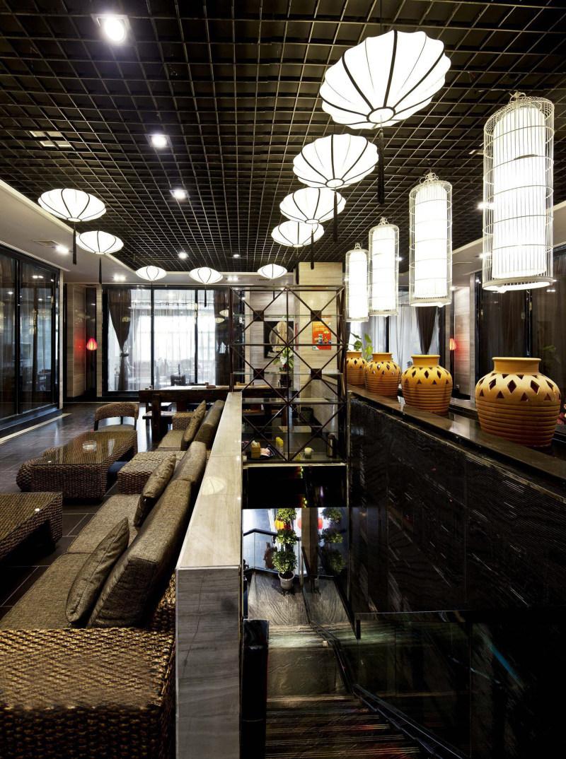 王永-周和茗茶混搭风格室内设计实景图