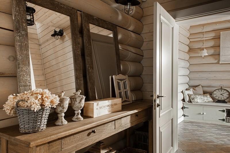 乡村田园风格室内住宅设计实景图