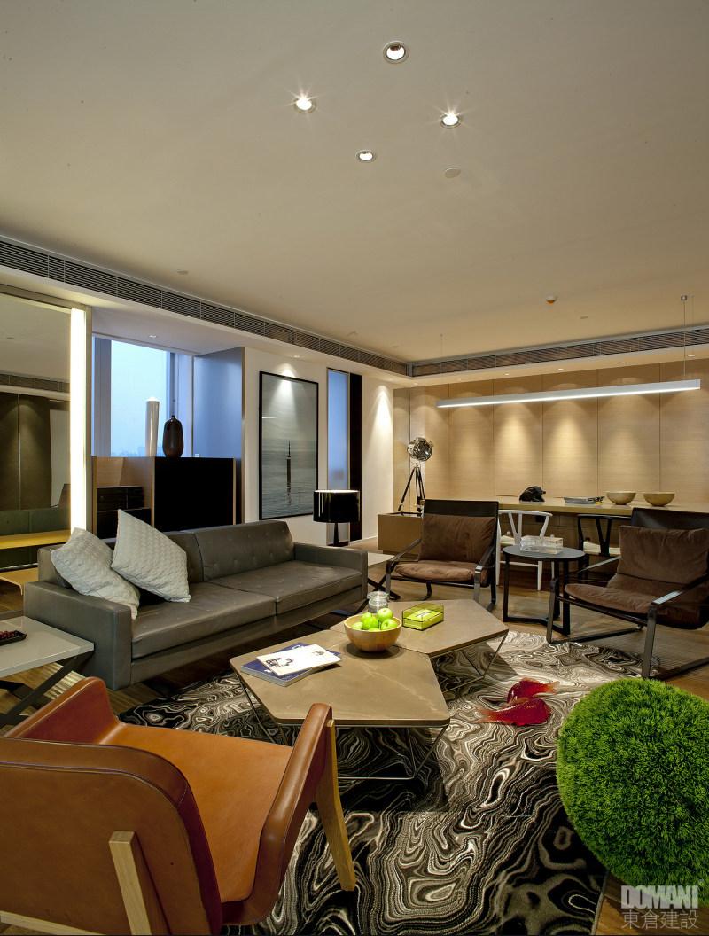 室内 办公空间装修 混搭风格 香港coco办公室 办公空间设计实景图