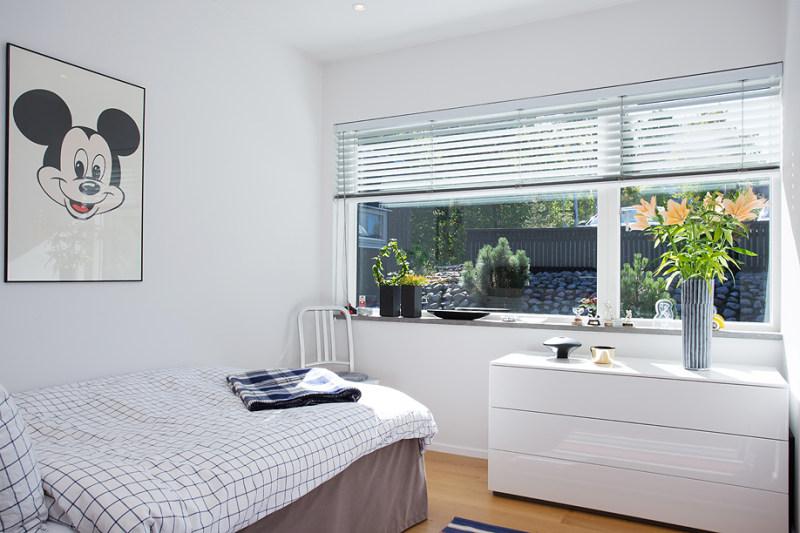瑞典山顶独栋别墅田园风格室内住宅设计实景图