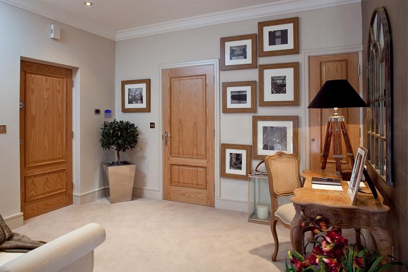 伯克希尔英国奢华格调公寓田园风格室内住宅设计实景图