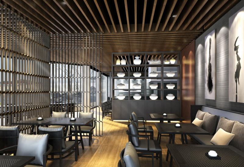 苏州添香书院休闲娱乐类室内设计效果图