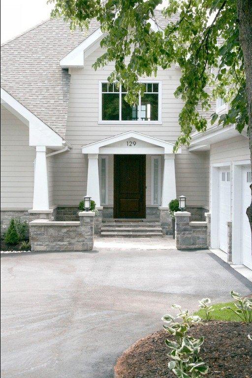 加拿大多倫多湖景別墅田園風格室內住宅設計實景圖