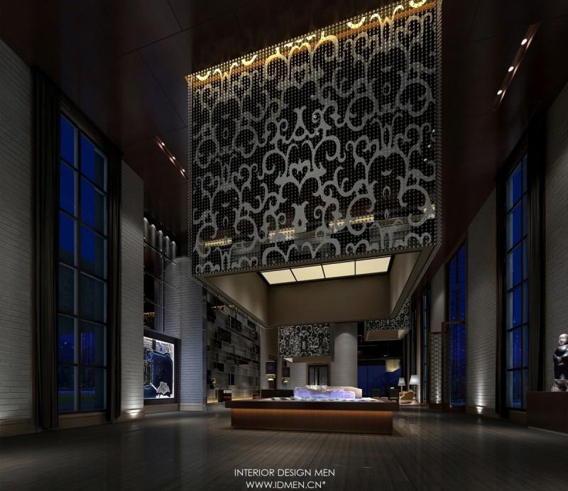 五合地产销售中心混搭风格展厅展览展示室内设计效果图