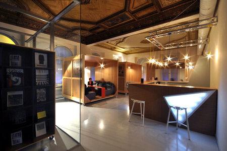 波兰罗兹——ms咖啡馆现代风格室内设计实景图