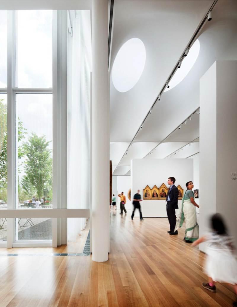 北加州艺术博物馆展厅展览展示室内设计实景图