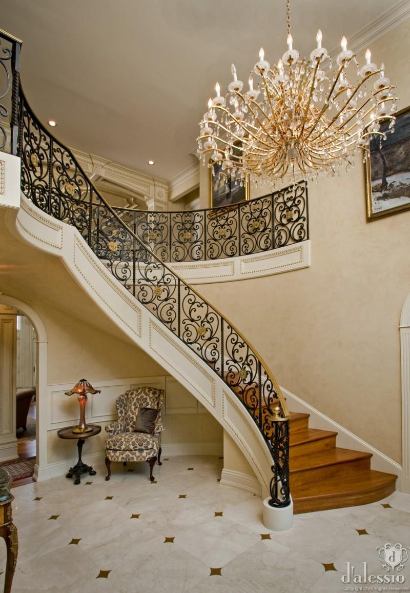 室内 住宅装修 田园风格 法国路易十四的豪宅田园风格室内住宅设计图片