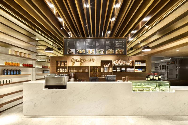 深圳gaga鲜语咖啡店现代风格室内设计实景图