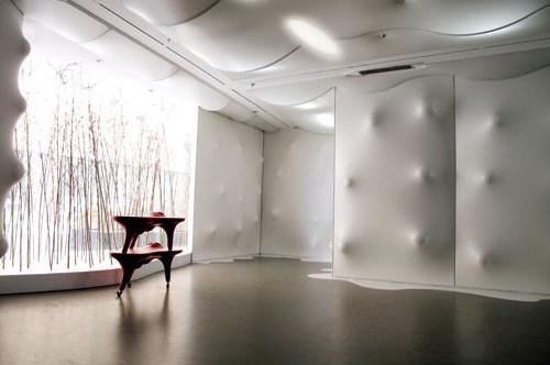 叶宇轩设计今日美术馆展厅展览展示室内设计实景图