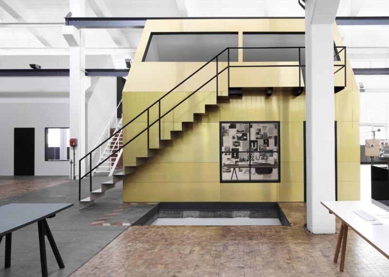 德国旧工厂改造成办公空间 室内办公空间设计实景图
