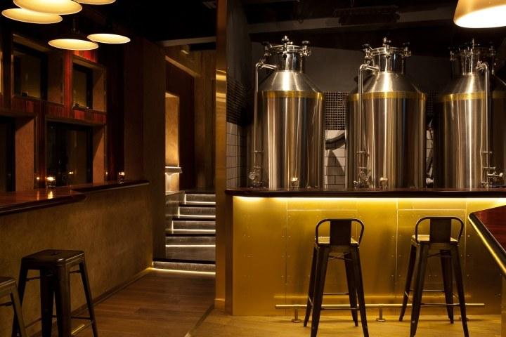 """""""给点小费""""——香港酒吧混搭风格室内设计实景图"""