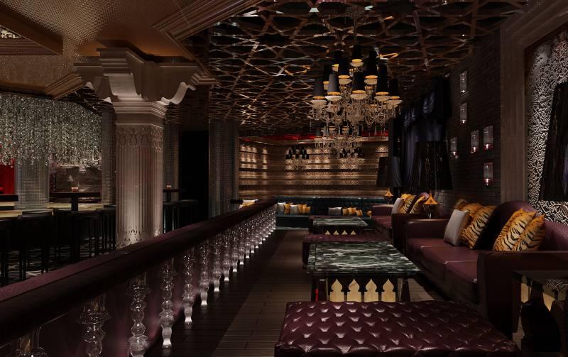 豪门夜宴娱乐会所休闲娱乐类室内设计效果图