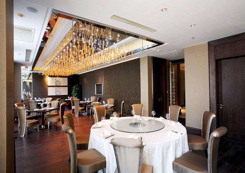 珍珠中餐厅中式风格室内装饰装修设计实景图
