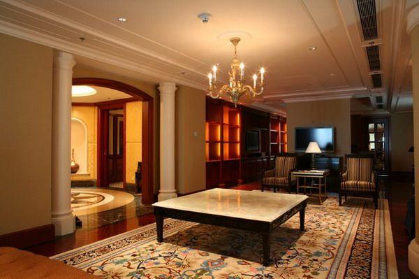 广州富力丽思卡尔顿酒店欧式风格宾馆酒店室内装饰装修设计实景图