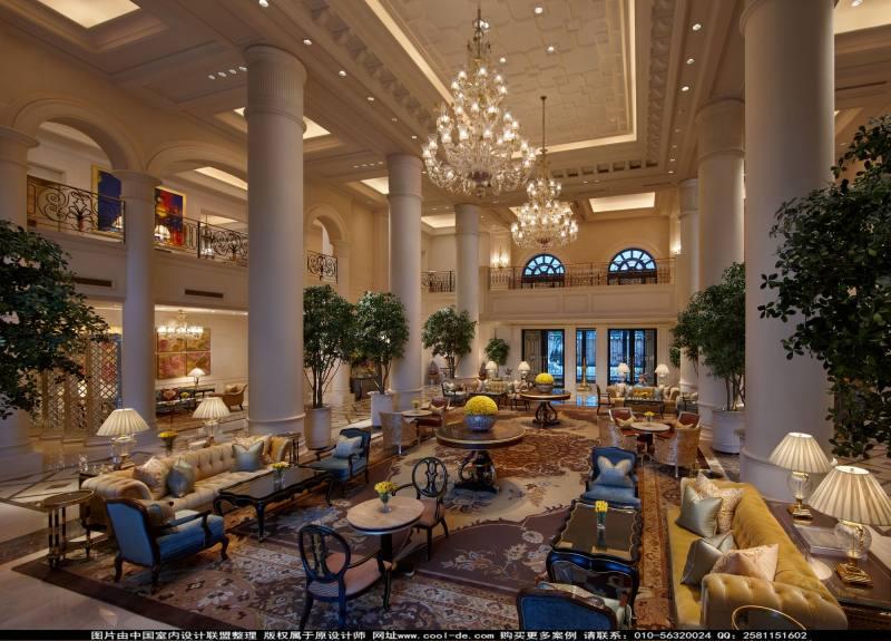 室内 宾馆酒店类装修 欧式风格 里拉皇宫凯宾斯基欧式风格宾馆酒店