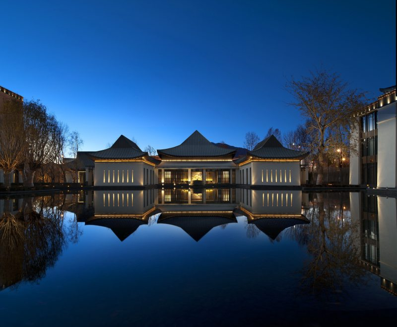 中国西藏拉萨瑞吉度假酒店中式风格宾馆酒店室内装饰装修设计实景图