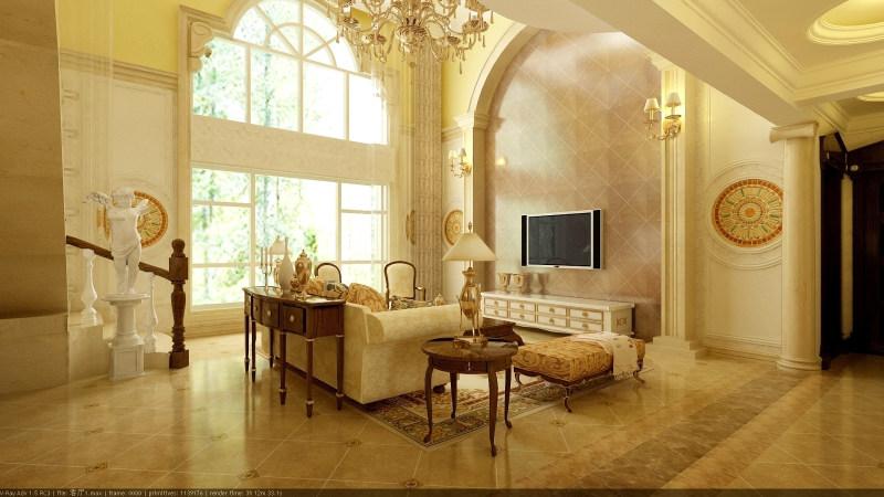 室内 住宅装修 欧式风格 森林半岛温馨古典欧式别墅家居装饰设计住宅