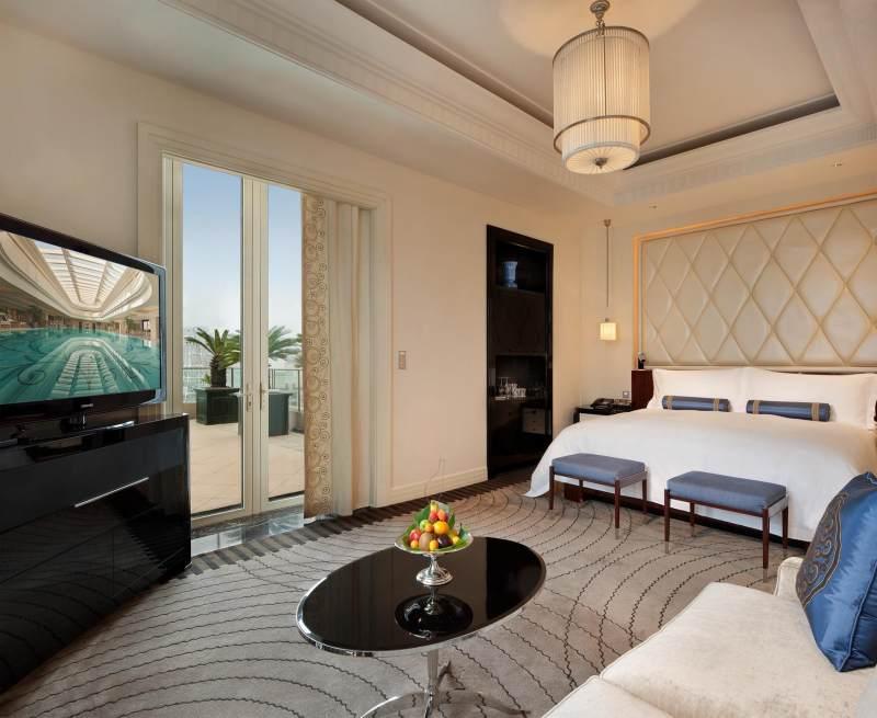 半岛酒店集团-上海欧式风格宾馆酒店室内装饰装修设计实景图