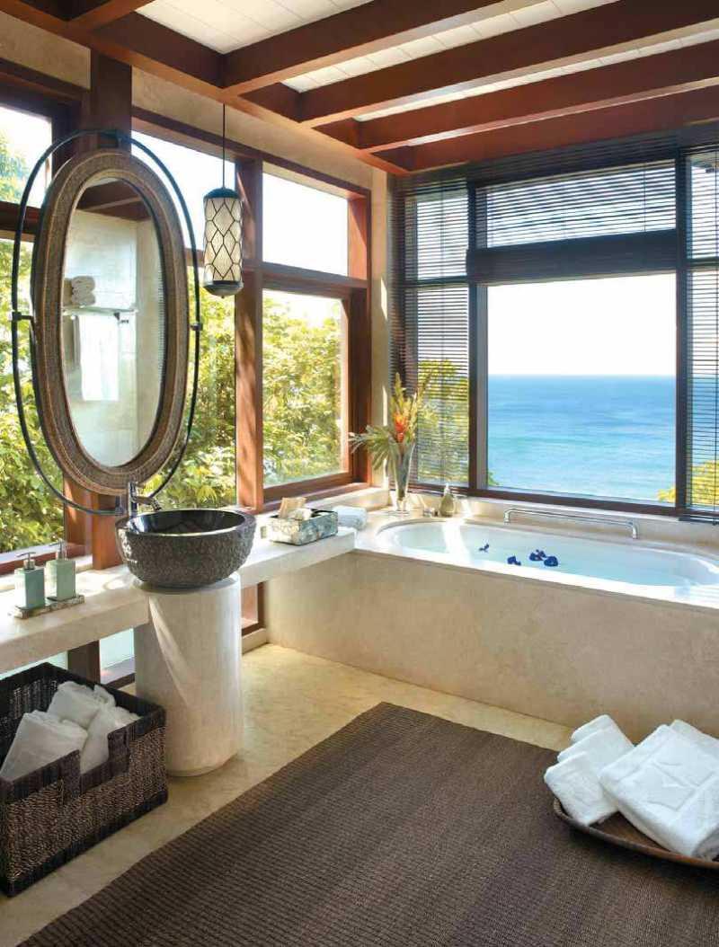 菲律宾香格里拉长滩岛度假酒店混搭风格宾馆酒店室内装饰装修设计实