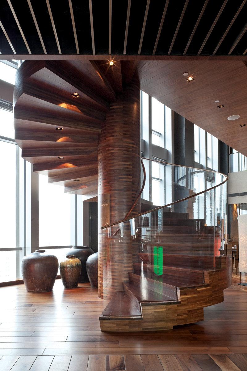 广州君悦07凯菲厅现代风格宾馆酒店室内装饰装修设计实景图