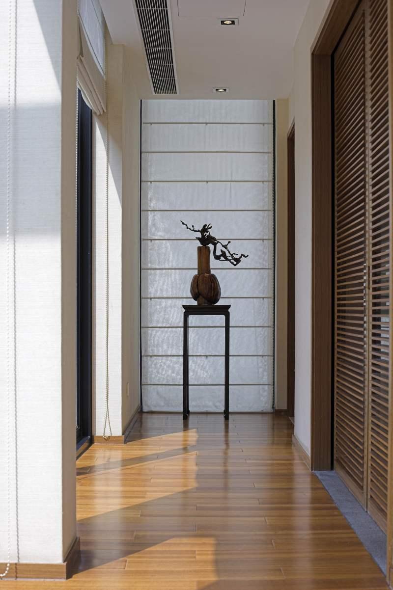 (上海九間堂)新中式经典室内别墅家居新中式风格住宅别墅家居家装室内