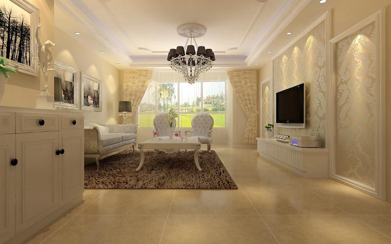 经典住宅艺术装饰设计室内设计效果图实景图欧式风格住宅空间装饰装修