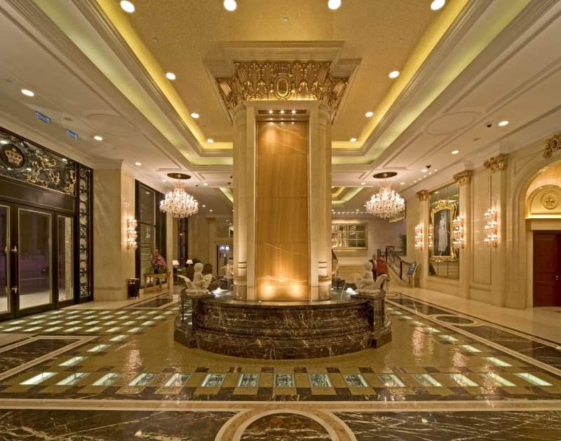 澳门英皇赌场酒店欧式风格宾馆酒店室内装饰装修设计实景图