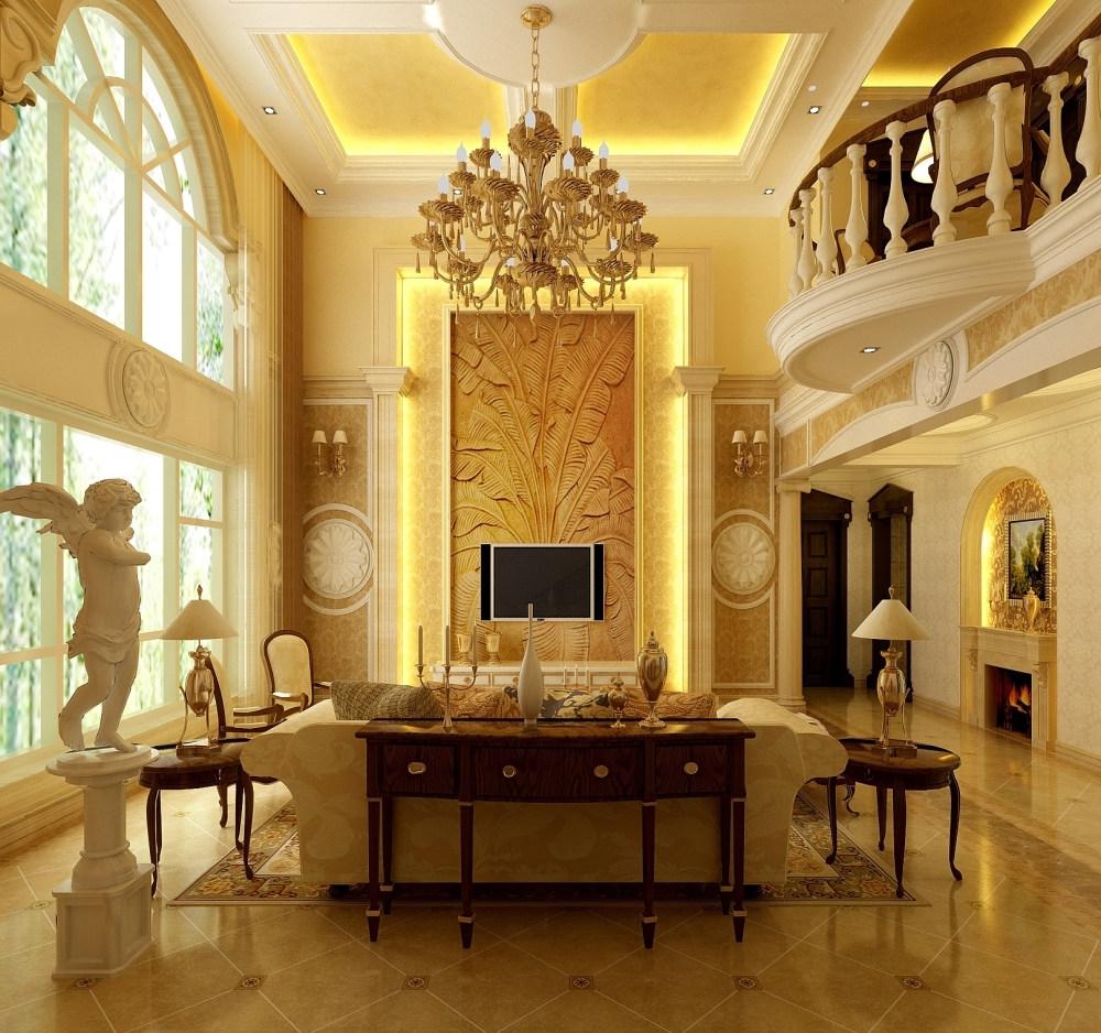 森林半岛温馨古典欧式别墅家居装饰设计住宅艺术装饰设计室内设计效果