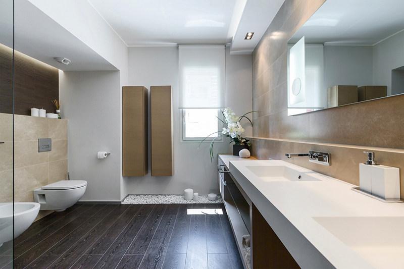 摩纳哥现代简约风格住宅设计 室内装修设计效果图实景