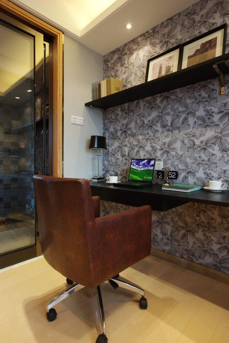 东莞长安花园新中式风格住宅别墅家居家装室内装饰装修设计实景图