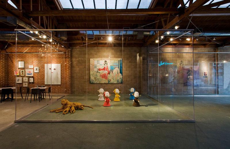 皇家--艺术画廊咖啡厅工业风格室内装饰装修设计实景图