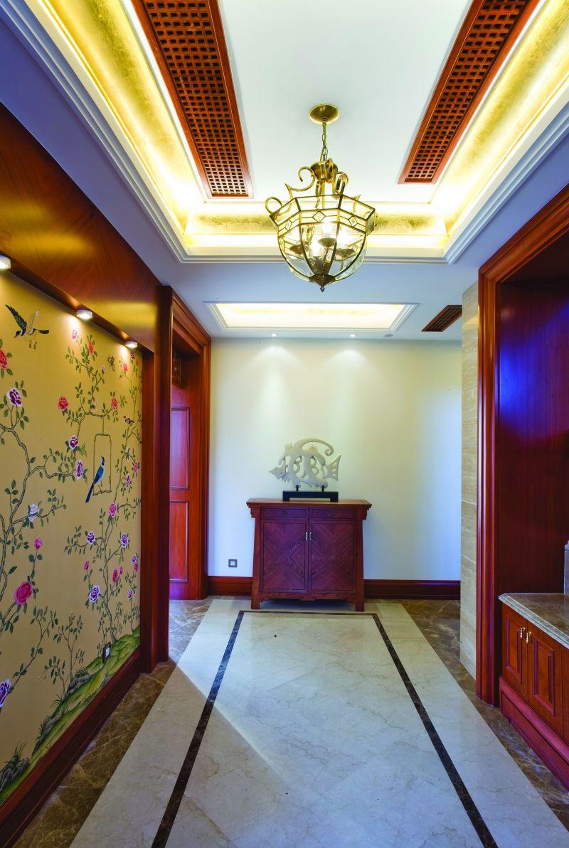上海-江南华府新中式风格住宅别墅家居家装室内装饰装修设计实景图