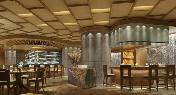 惠州凯宾斯基饭店现代风格宾馆酒店室内装饰装修设计实景图
