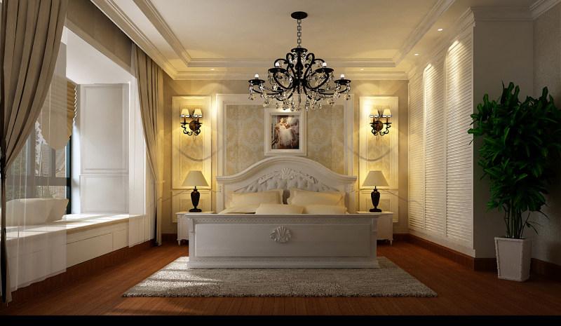 欧式风格经典住宅艺术装饰设计室内设计效果图实景图住宅空间装饰装修图片