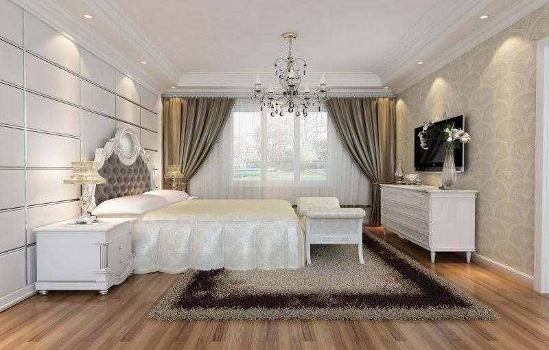 现代欧式客厅餐厅卧室家居装饰设计住宅艺术装饰设计室内设计效果图实