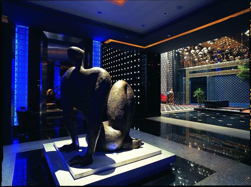 南海中恒国际酒店夜总会休闲娱乐类室内装饰装修设计效果图