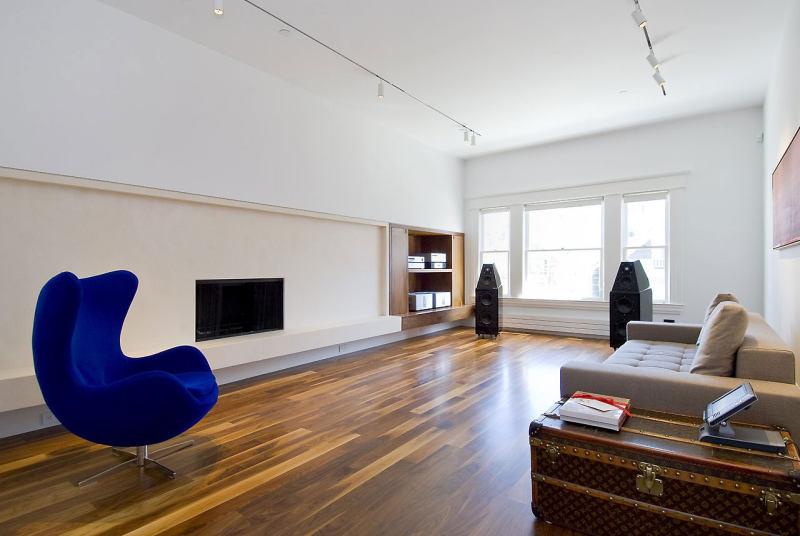 美国旧金山顶层复式公寓 工业风格住宅公寓空间家装室内装饰装修设计
