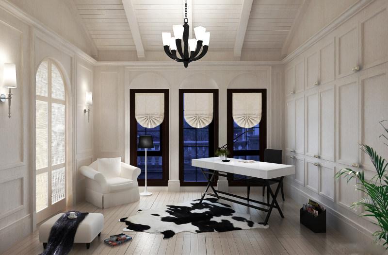室内 住宅装修 欧式风格 桃花源别墅现代欧式豪华典雅大空间别墅家居