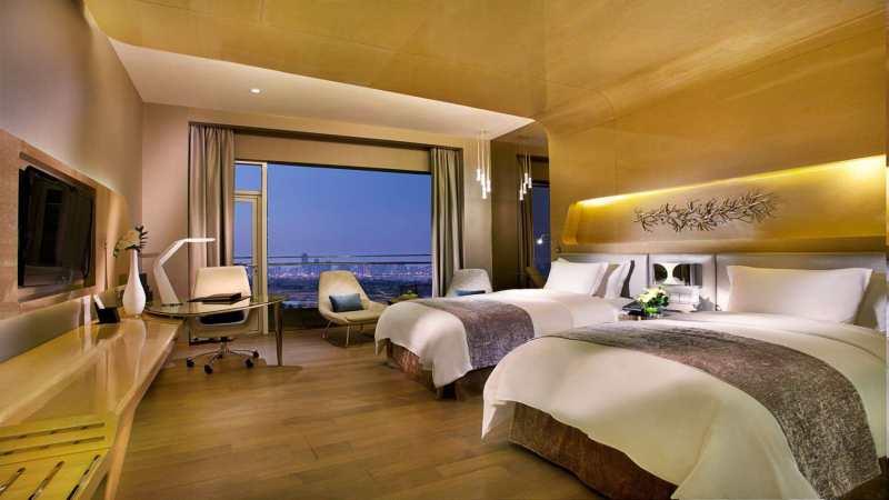青岛凯宾斯基酒店现代风格宾馆酒店室内装饰装修设计实景图