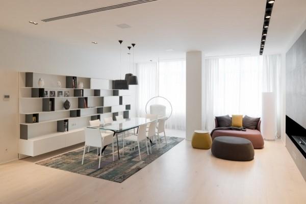 国外现代简约风格住宅设计室内装修设计效果图实景图
