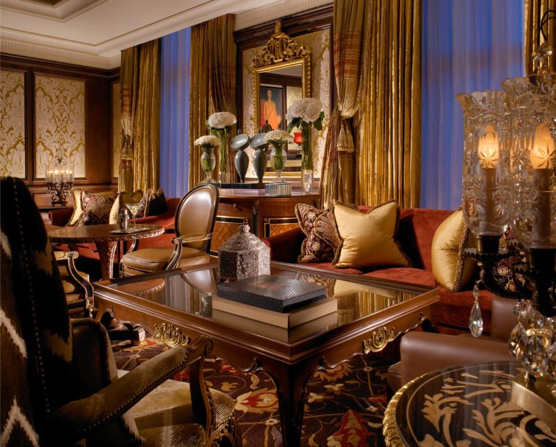 里拉皇宫凯宾斯基欧式风格宾馆酒店室内装饰装修设计实景图