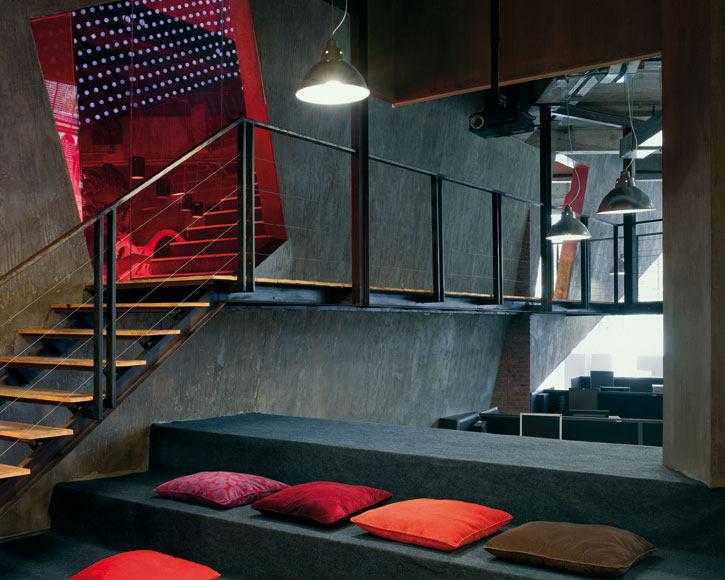 中國-廣州-奥美广告公司办公室 办公空间室内装饰装修设计实景图