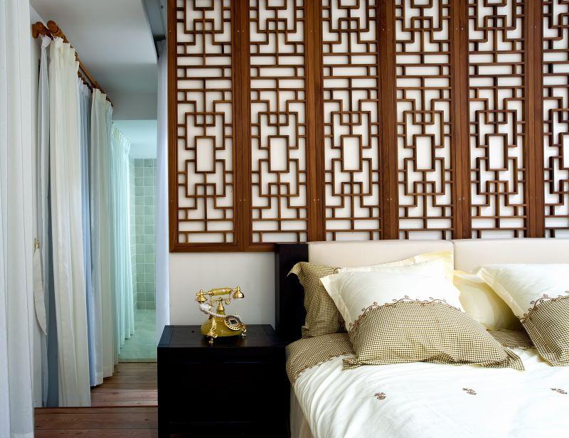 上海-设计创意园区新中式风格住宅别墅家居家装室内装饰装修设计实景
