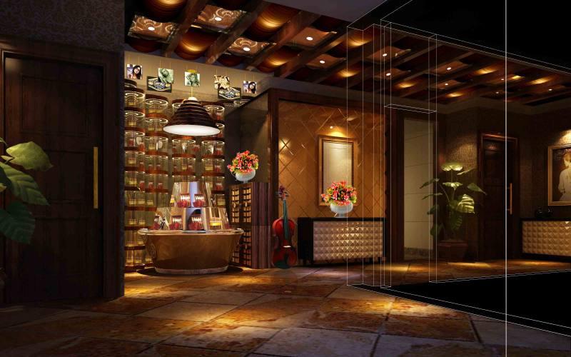 北京鼎吉酒窖休闲娱乐类室内设计效果图